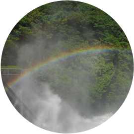 虹始めて見るイメージ画像