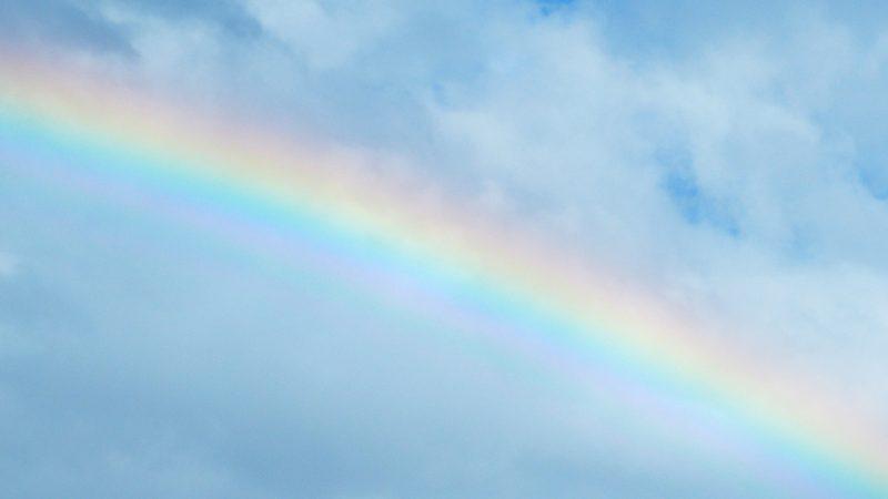 虹が綺麗 意味