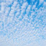 鱗雲と羊雲 うろこぐもとひつじぐも